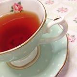 Engelskt svart te Arkivfoton