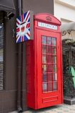 Engelskt telefonbås Royaltyfri Bild