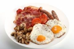 engelskt traditionellt för frukost Royaltyfri Fotografi