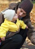 Engendre con el niño Fotografía de archivo libre de regalías