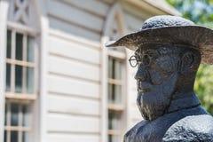 Engendre la estatua de Damián Fotografía de archivo