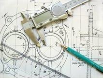 Engenharia Fotografia de Stock Royalty Free