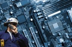 Engenharia alta tecnologia Fotos de Stock Royalty Free