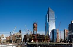 Engenharia civil, Manhattan Imagens de Stock