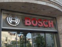 Engenharia de Bosch e empresa de eletrônica imagem de stock