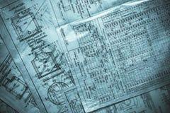 Engenharia de Grunge Imagem de Stock Royalty Free