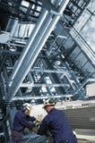 Engenharia e indústria Foto de Stock Royalty Free