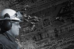 Engenharia e tecnologia Fotografia de Stock