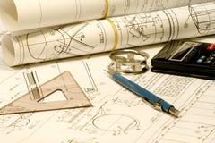 Engenharia mecânica Foto de Stock