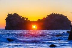 Engetsuto ö, Wakayama Japan fotografering för bildbyråer