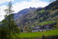 Visit Engiadina - Scuol and other host cities stock image