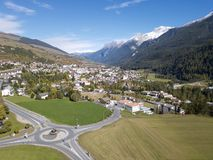Visit Engiadina - Scuol and other host cities royalty free stock image