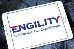 Engility company logo Stock Photo