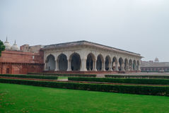 Engin Air-Air de Diwan E, Hall d'assistance publique dans le fort rouge d'Âgrâ Âgrâ, Utt images libres de droits