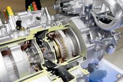 Engine électrique d'automobile Images libres de droits