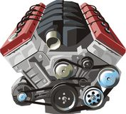 ENGINE illustration stock