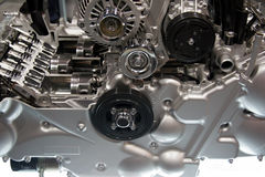 Engine. A cut away section of an internal combustion engine Royalty Free Stock Photos
