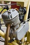 Engine. Motorcycle engine,Old bike engine Stock Photography