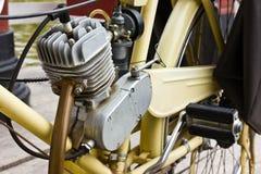 Engine. Motorcycle engine,Old bike engine Stock Images