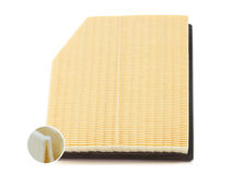 Engine air filter Stock Images
