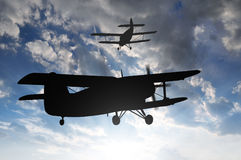 Engine airplane Stock Photos