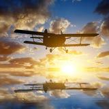 Engine airplane Royalty Free Stock Image