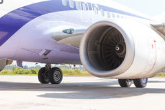 Engine of airplane Royalty Free Stock Photography