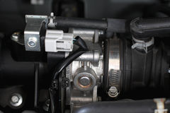 Engine Auto carburetor Royalty Free Stock Photos