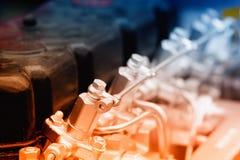 Engine of automobile Stock Photo