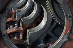 The engine for axle and for pistons Royalty Free Stock Images