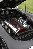 Engine Bay. Cars engine bay Stock Photo