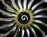 Engine blades Royalty Free Stock Image