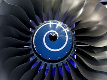 Engine blades Stock Images