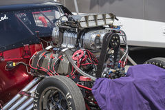 Engine with blower Royalty Free Stock Images