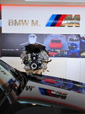 Engine of a BMW M car Royalty Free Stock Photography