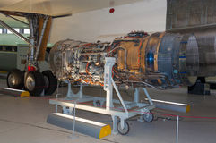 Engine for British Aircraft Corporation, Concorde Royalty Free Stock Image