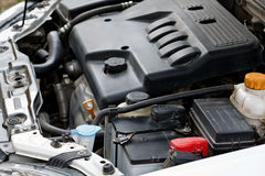 The engine of the car. Royalty Free Stock Images