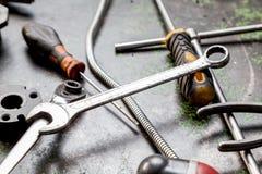 Engine car repair Royalty Free Stock Photos