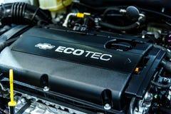 Engine Chevrolet Cruze Stock Photography