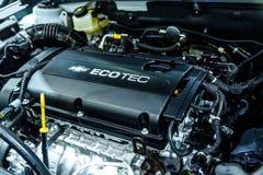 Engine Chevrolet Cruze Stock Photos