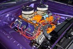 Engine classique de Hotrod Photo stock