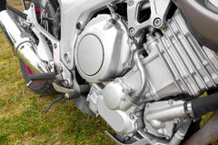 Engine. In close-up, photography Royalty Free Stock Images