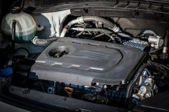 Engine compartment car engine detail. Engine compartment - car engine detail royalty free stock photo