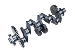 Engine Crankshaft Stock Image