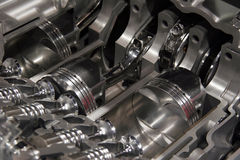 Engine cut away Stock Images