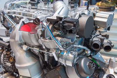 Engine cut Stock Photos