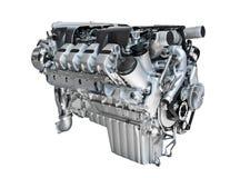 Engine block. Isolated on white Stock Image