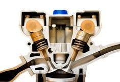Engine cutaway Stock Image