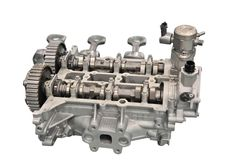 Engine Cylinder Head Royalty Free Stock Photography