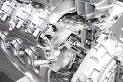 Engine d'automobile Photos libres de droits